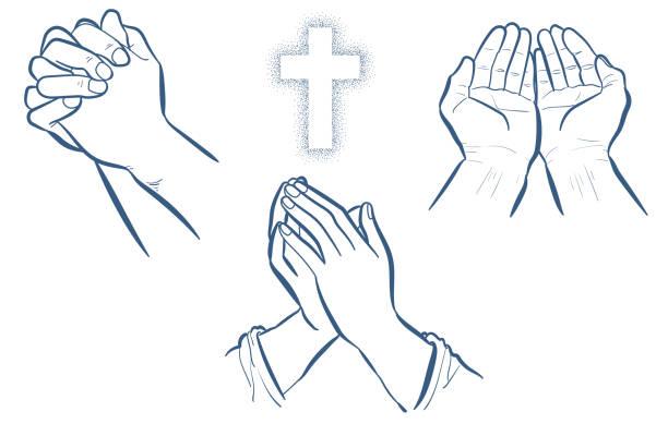 祈禱手套裝 - prayer 幅插畫檔、美工圖案、卡通及圖標