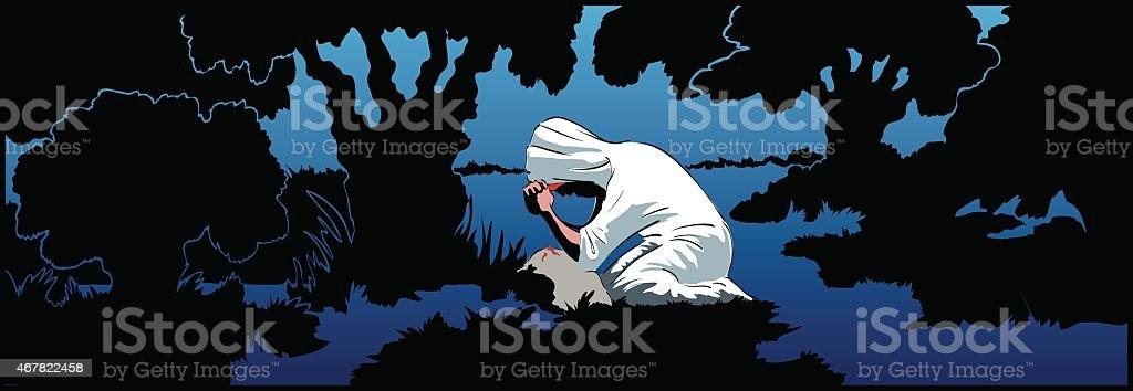 Praying Christ