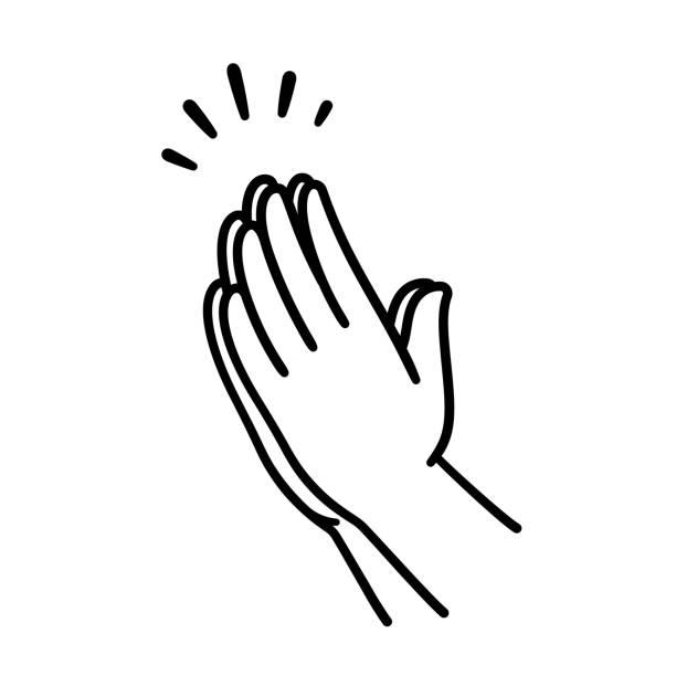祈禱手畫 - prayer 幅插畫檔、美工圖案、卡通及圖標