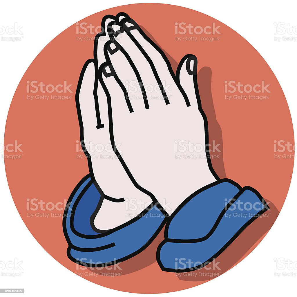 praying hands icon royalty-free praying hands icon stock vector art & more images of celebration event