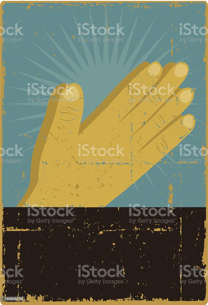 Praying Hands royalty-free praying hands stock vector art & more images of communication