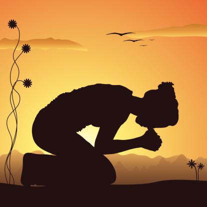 Praying in Nature