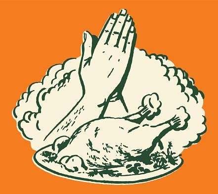 Praying Over Thanksgiving Dinner