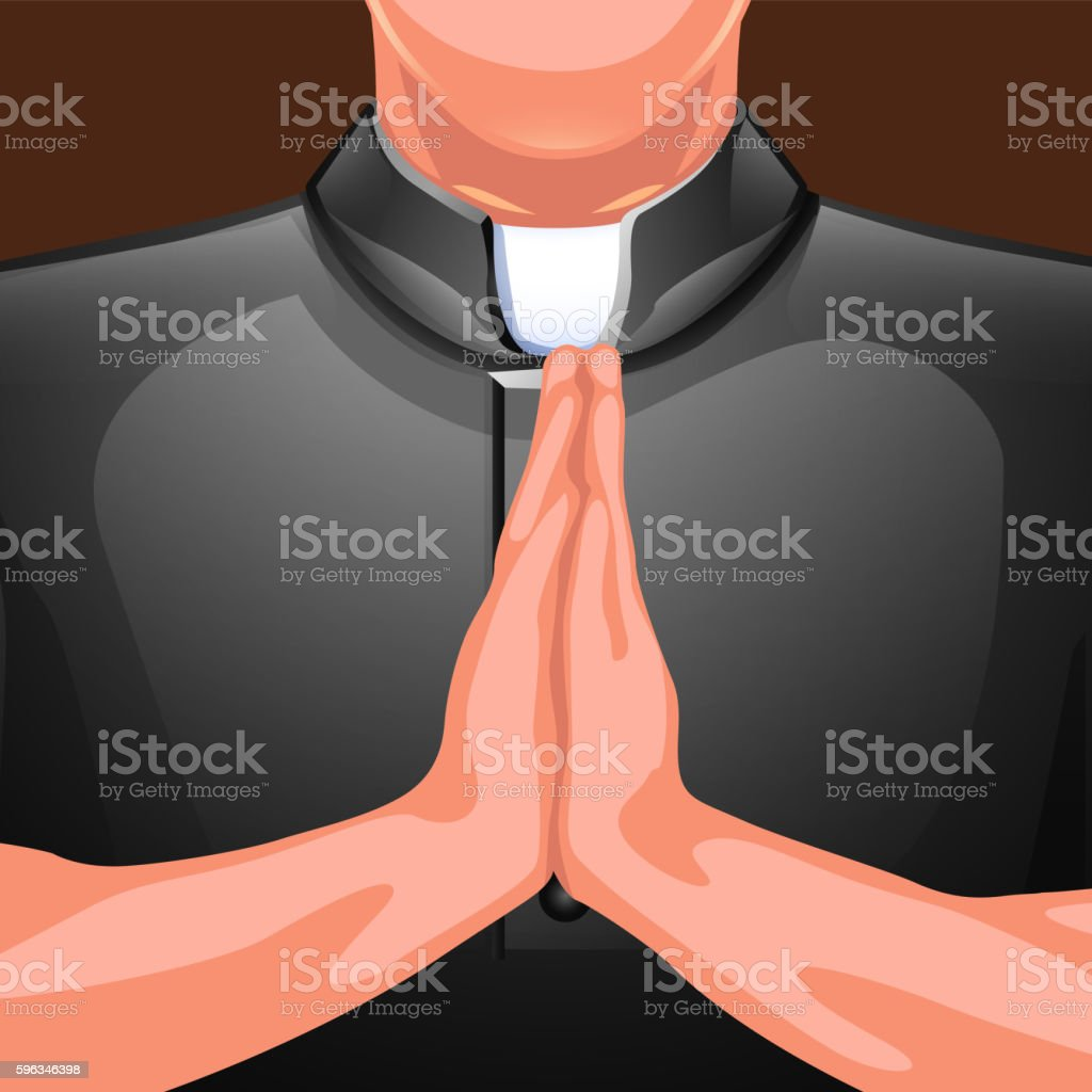 praying priest hands royalty-free praying priest hands stock vector art & more images of adult