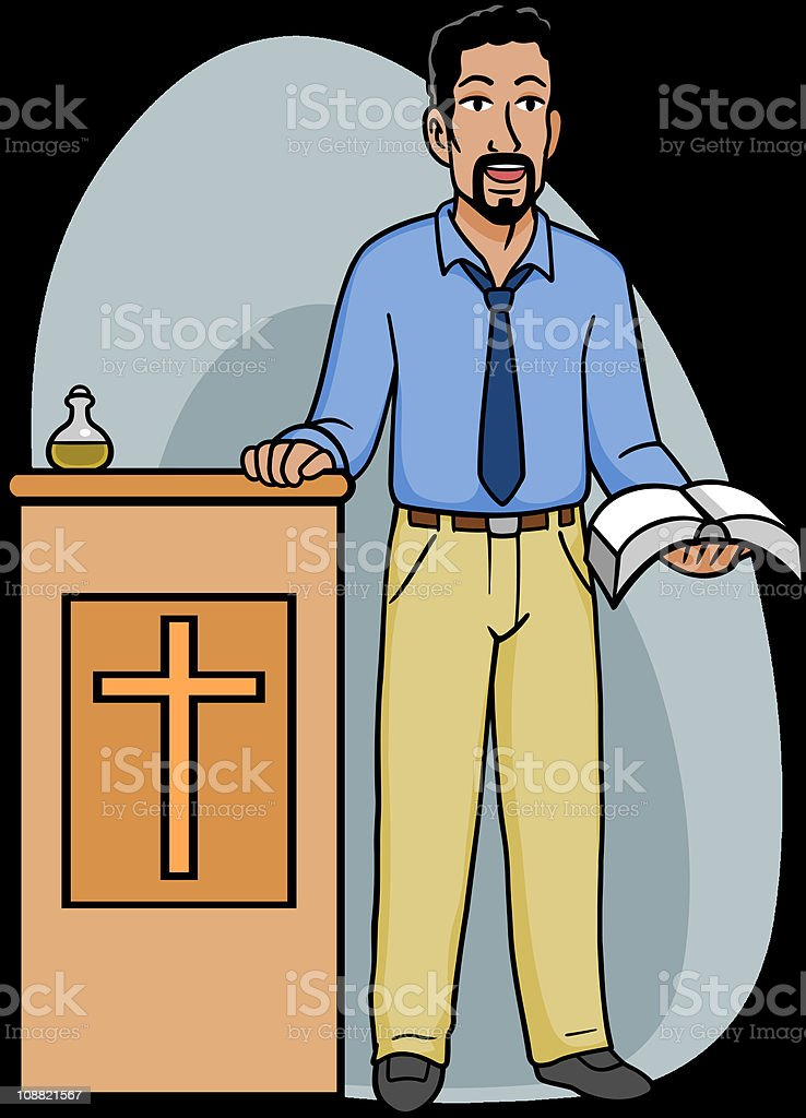 Royalty Free Minister Clergy Clip Art, Vector Images ...