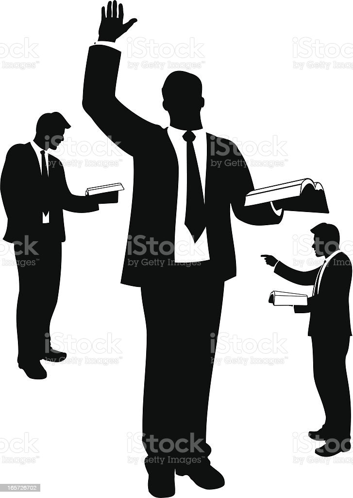 Preacher Stock Vector Art & More Images of Adult 165726702 ...