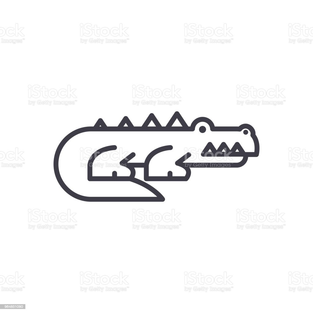 Predatory animals black icon concept. Predatory animals flat  vector symbol, sign, illustration. royalty-free predatory animals black icon concept predatory animals flat vector symbol sign illustration stock vector art & more images of africa