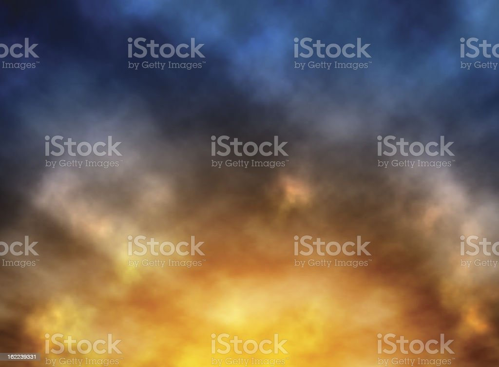 Predawn royalty-free stock vector art