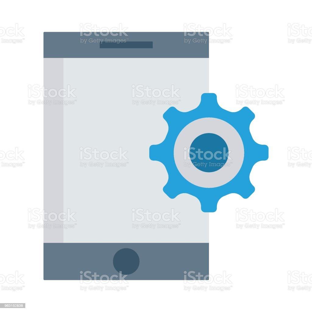 preferens - Royaltyfri App vektorgrafik