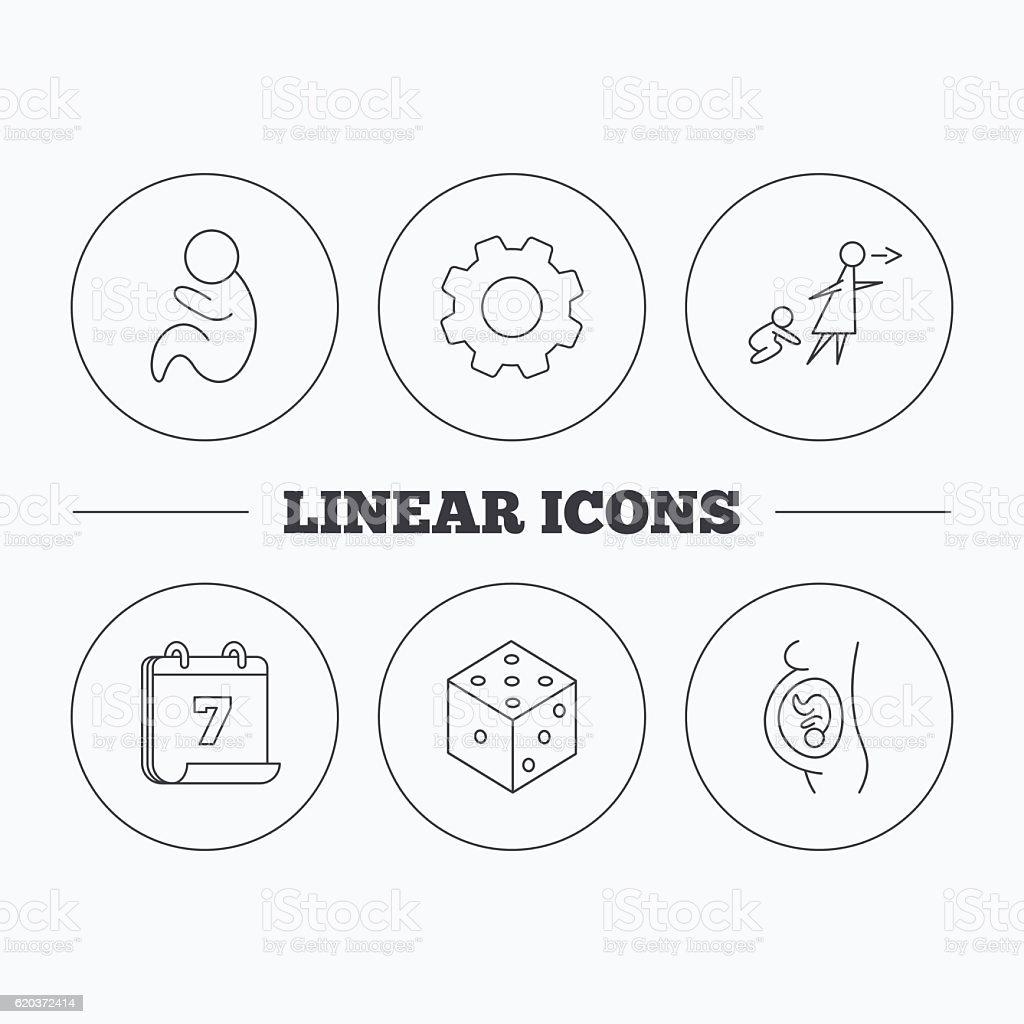 Ciąży, pediatria i kości ikony. ciąży pediatria i kości ikony - stockowe grafiki wektorowe i więcej obrazów aplikacja mobilna royalty-free