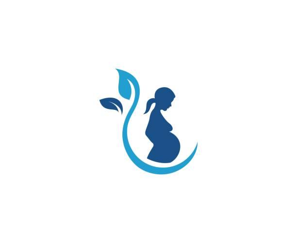 pregnant icon - pregnancy stock illustrations, clip art, cartoons, & icons