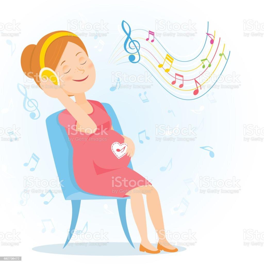 royalty free family listening to music clip art vector images rh istockphoto com boy listening to music clipart child listening to music clipart