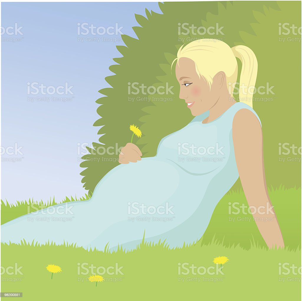 Pregnant woman royalty-free pregnant woman stock vector art & more images of adult