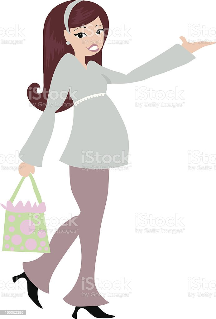 Prego Shopper royalty-free stock vector art