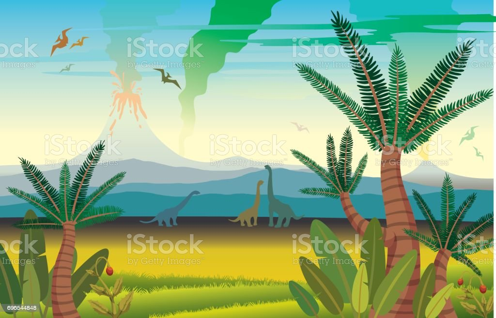 royalty free jurassic clip art  vector images
