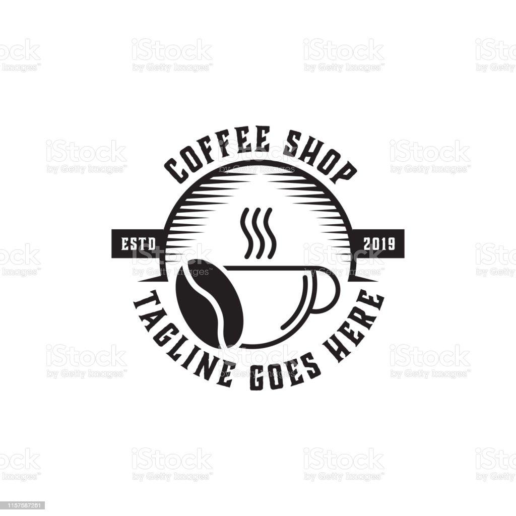 Premium Coffee Shop Logo Inspiration Vintage Rustic And Retro Stock Illustration Download Image Now Istock