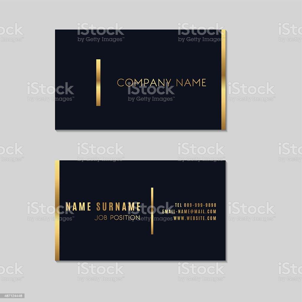 Vecteurs Premium Carte De Visite Design Minimaliste Cliparts