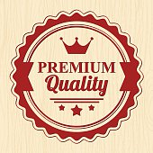 Premium Quality  Badge - VECTOR