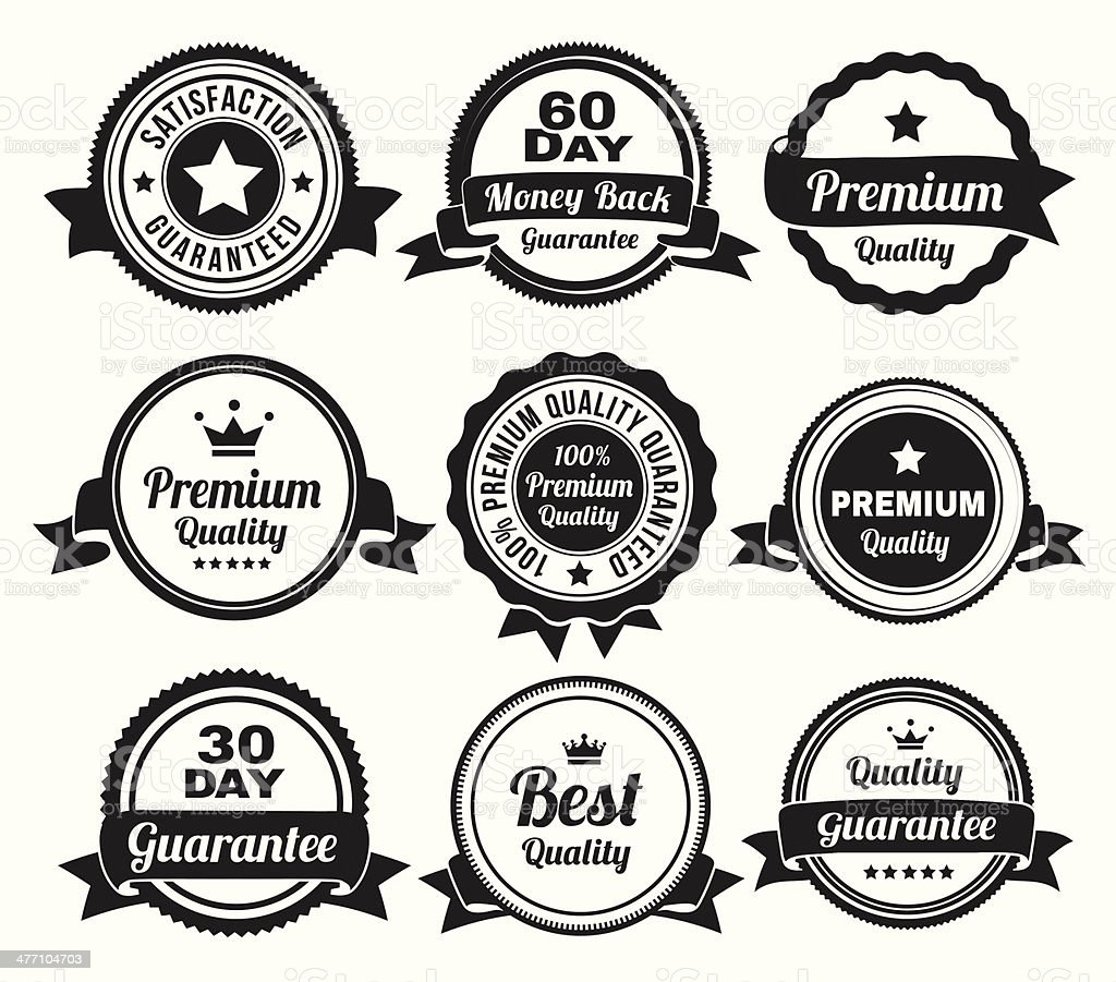 Premium Quality Badges royalty-free premium quality badges stock vector art & more images of badge