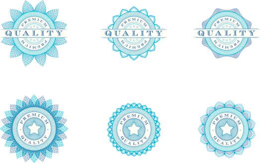 Premium Quality Badges - Vector Illustrations