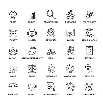 corporate stock illustrations