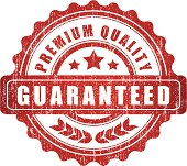 Premium Quality Guaranteed Sign - VECTOR