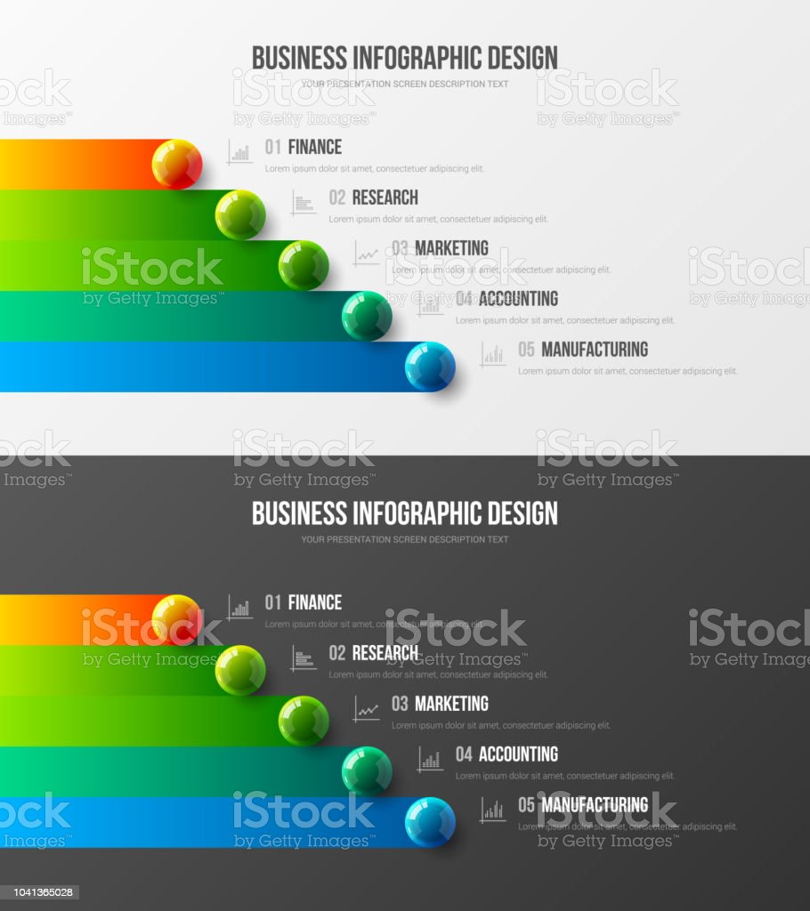 Premium quality marketing analytics presentation vector illustration template bundle. vector art illustration