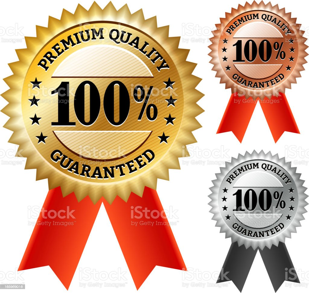 Premium Quality Red Badge Collection royalty-free premium quality red badge collection stock vector art & more images of badge