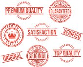 Premium quality rubber stamps