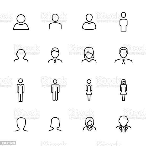 Premium set of user line icons vector id868546558?b=1&k=6&m=868546558&s=612x612&h=avebtysspakgcryfvbqf6xkfzyvh ca10yz95icj8qm=