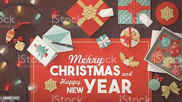 Preparazione Per Il Natale - Immagini vettoriali stock e altre immagini di 2015