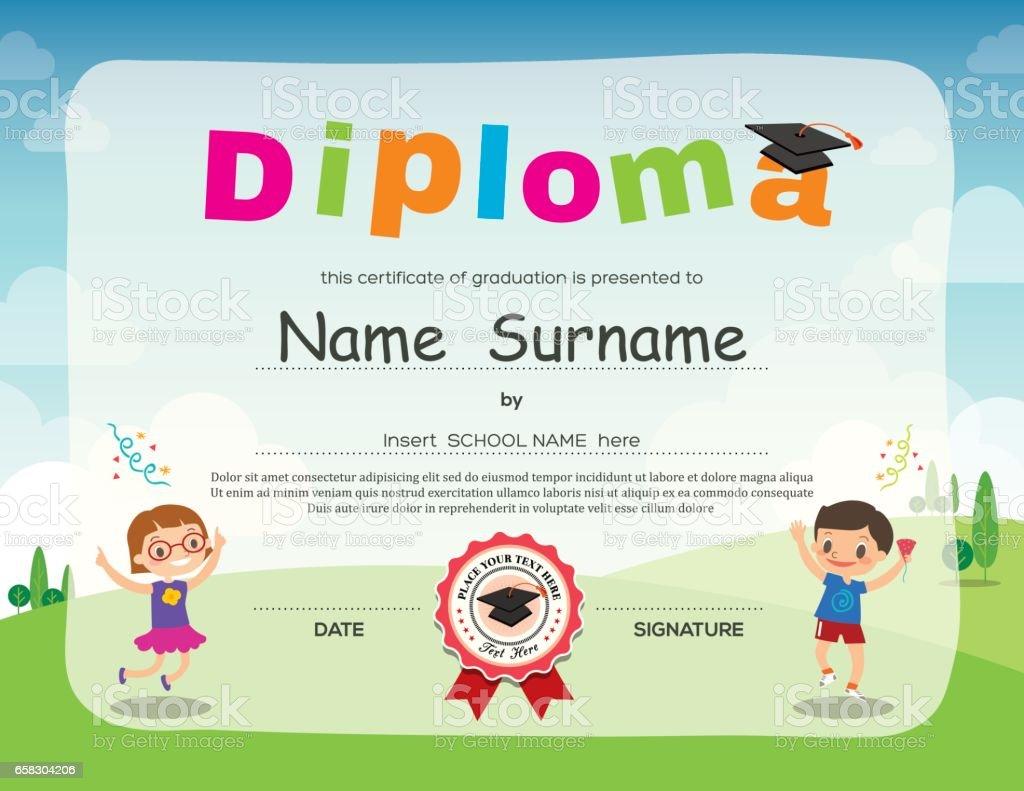 kids certificate border kaysmakehaukco