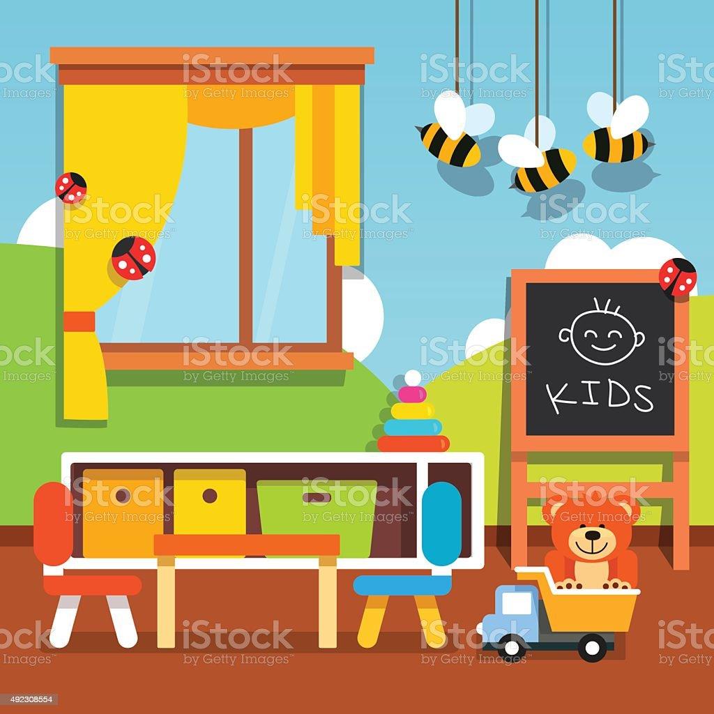 royalty free preschool classroom clip art vector images rh istockphoto com clipart classroom english clipart classroom rules
