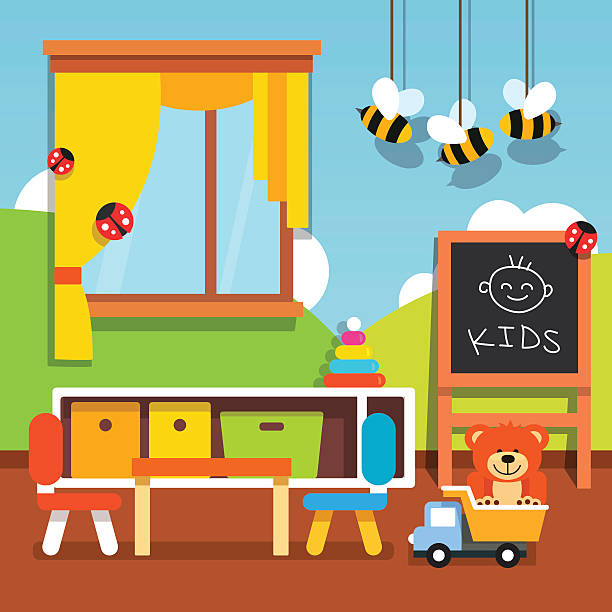 Best Preschool Classroom Illustrations, Royalty-Free ...
