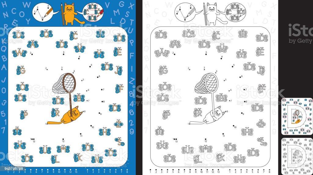 Ilustración de Hoja De Trabajo De Preescolar y más banco de imágenes ...