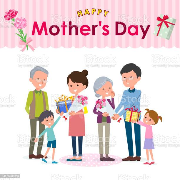 Present for loved ones mothers day family vector id937431624?b=1&k=6&m=937431624&s=612x612&h=faetvdoci0z8igli sf7zw4 fpjq1nsi6ec0uim1aik=