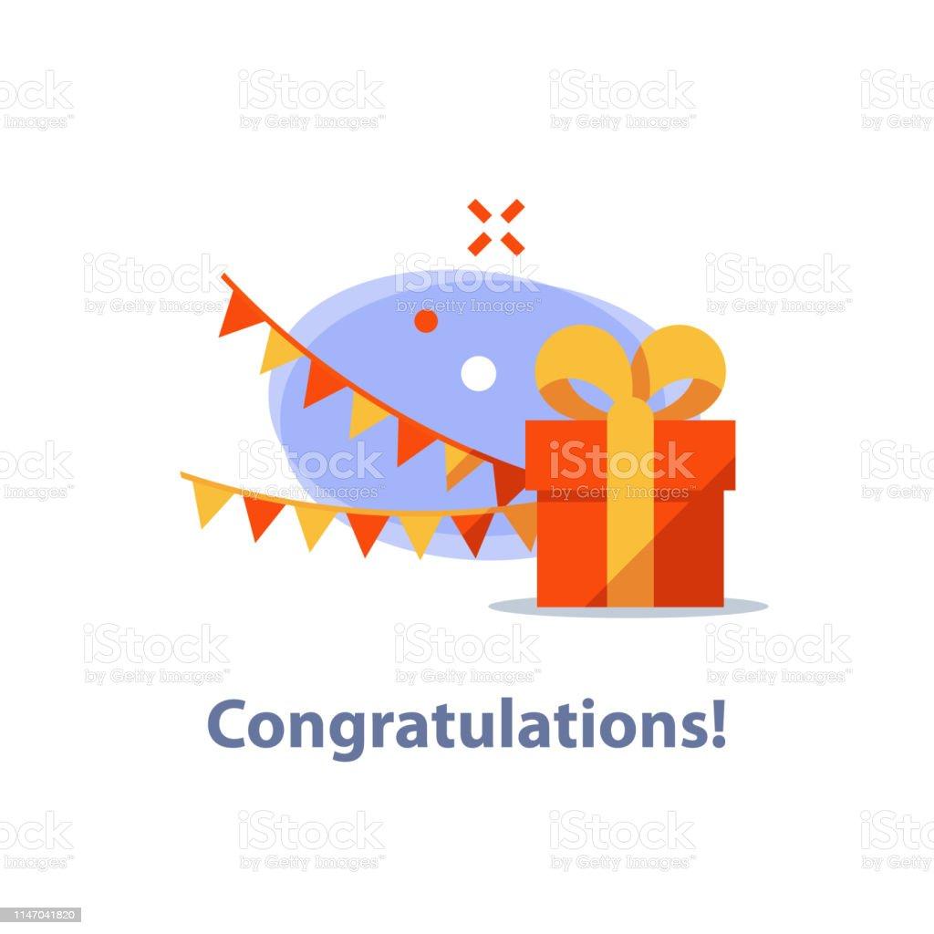 La Boite Jaune Prix cadeau présent surprenant boîte rouge ruban jaune recevant