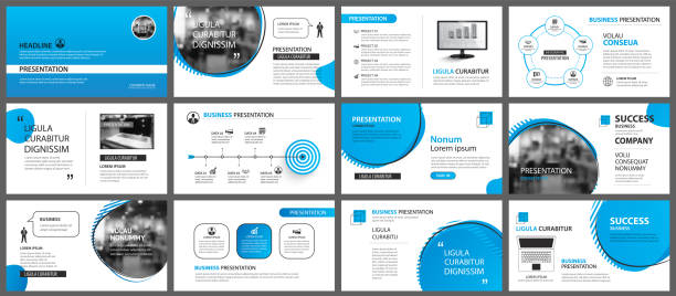 Presentation and slide layout background. Design blue gradient geometric template. Use for business annual report, flyer, marketing, leaflet, advertising, brochure, modern style. Presentation and slide layout background. Design blue gradient geometric template. Use for business annual report, flyer, marketing, leaflet, advertising, brochure, modern style. presentation stock illustrations