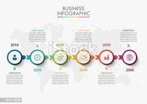 istock Presentation Business road map infographic template 1194015638