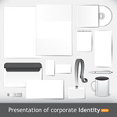 Presentation of corporate identity