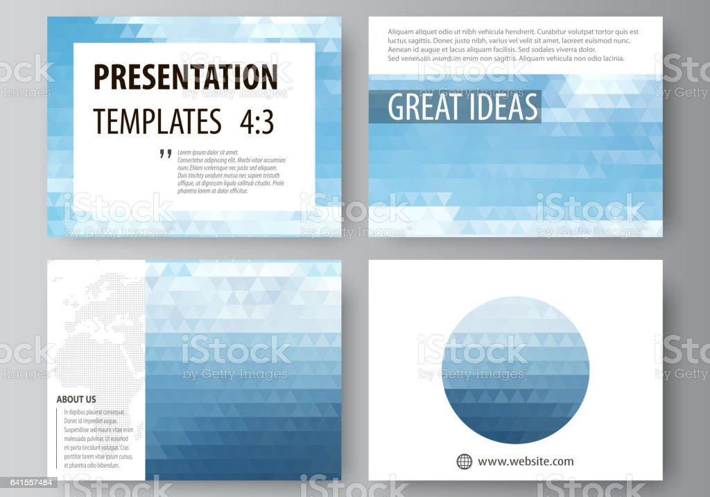 presentation slide templates easy editable abstract vector layouts
