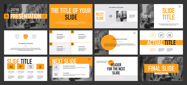 powerpoint template stock illustrations