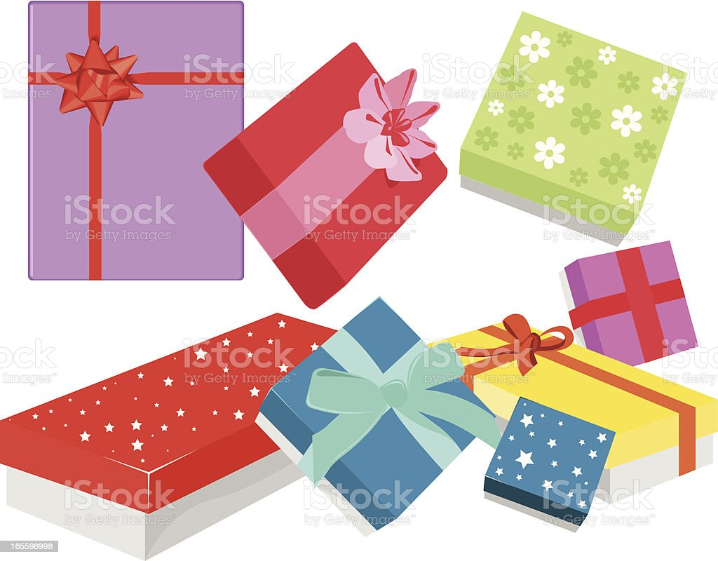 presents royalty-free presents stock vector art & more images of birthday