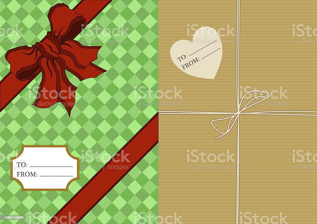 Presents vector art illustration