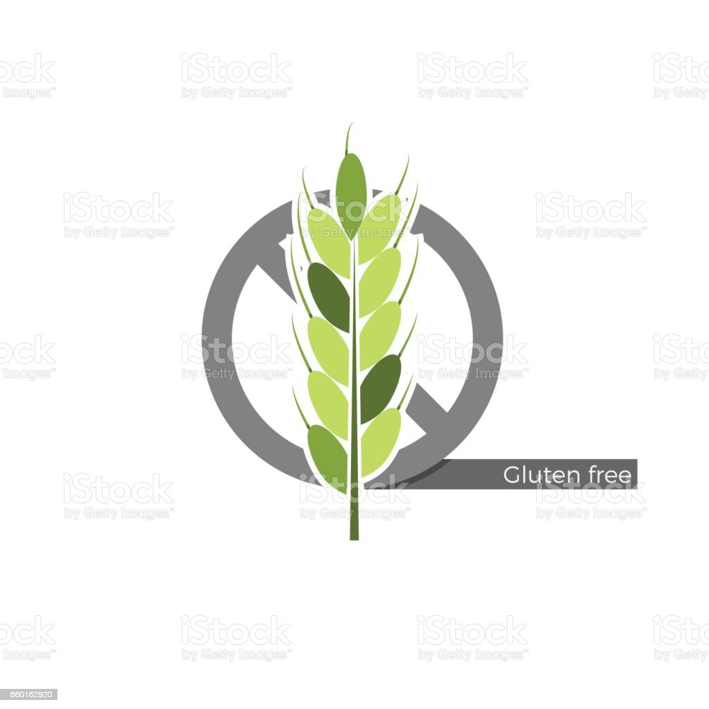 Preservatives free label vector art illustration