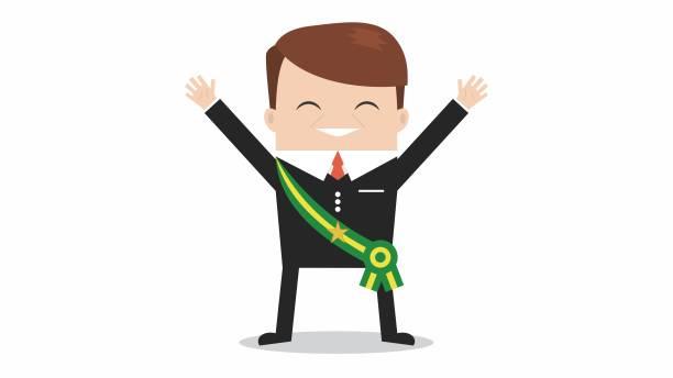 President Brazil Election Year, Faixa Presidencial president stock illustrations