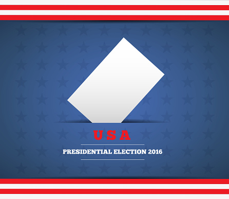 USA presidential election background