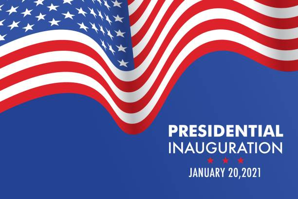 USA Presidential Inauguration Day on January 20th 2021 vector banner. USA Presidential Inauguration Day on January 20th 2021 vector banner. inauguration stock illustrations