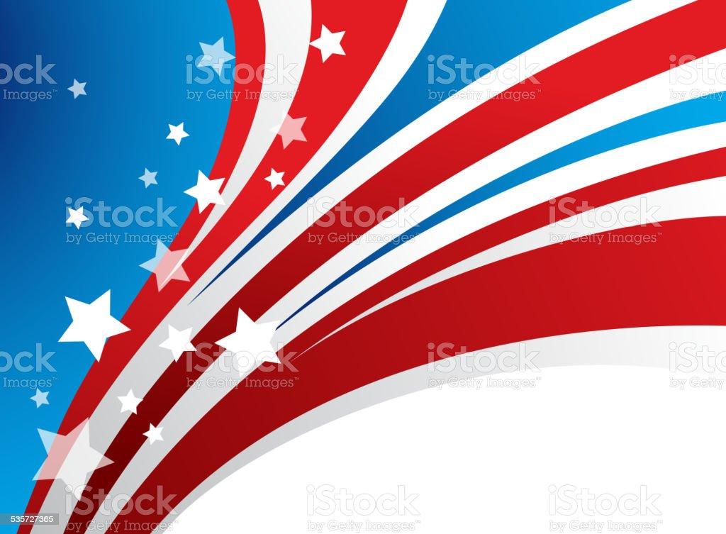 Presidents Day Vector Background vector art illustration