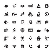 Press and Media - Ultimate pack #44  36 exclusive and professionally created vector icons set. Complete collection https://www.istockphoto.com/collaboration/boards/mzrx2NNkGUed1WzIqlF5AA